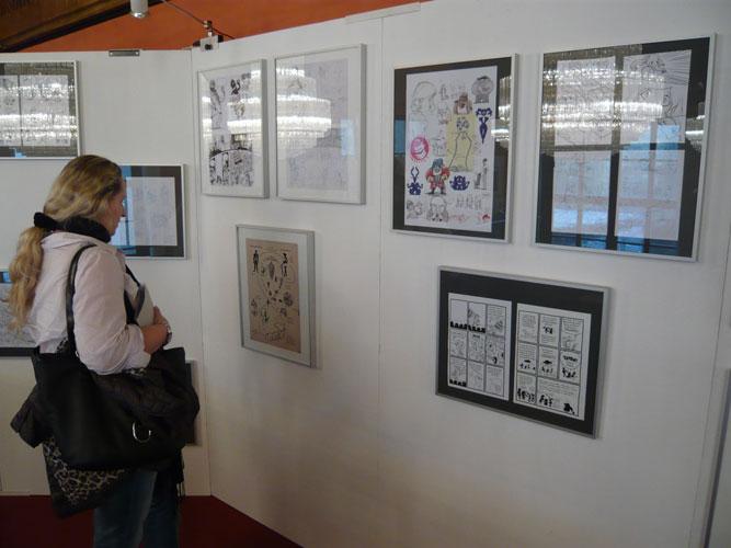 ausstellung comicsalon münchen 2011