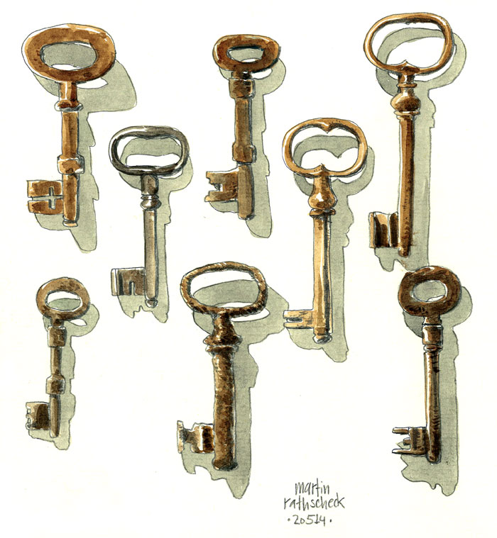 a bunch of keys