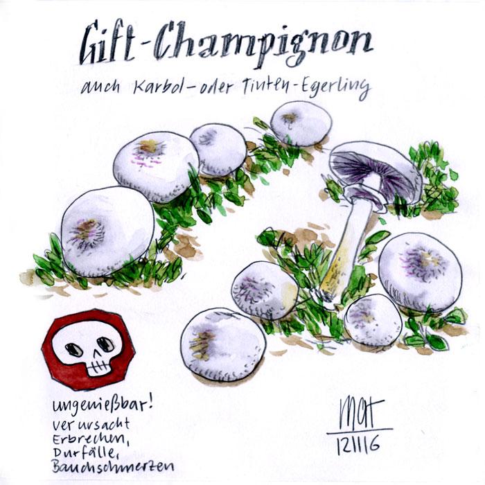 Gift-Champignon
