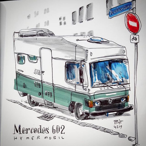 campers of hamburg - vmercedes 602