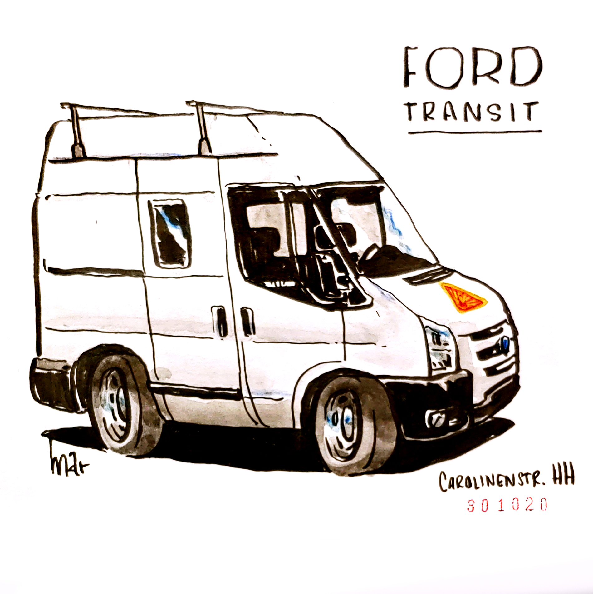campers of hamburg - ford transit