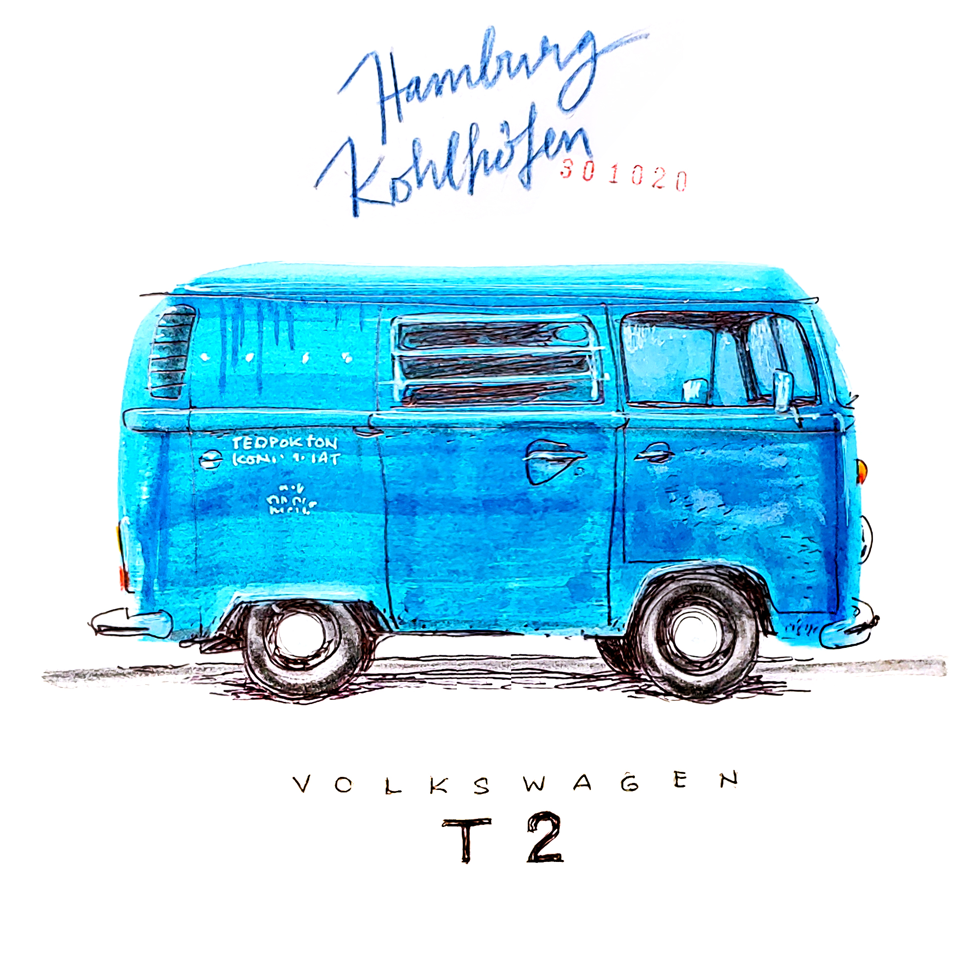 campers of hamburg - vw bully t2