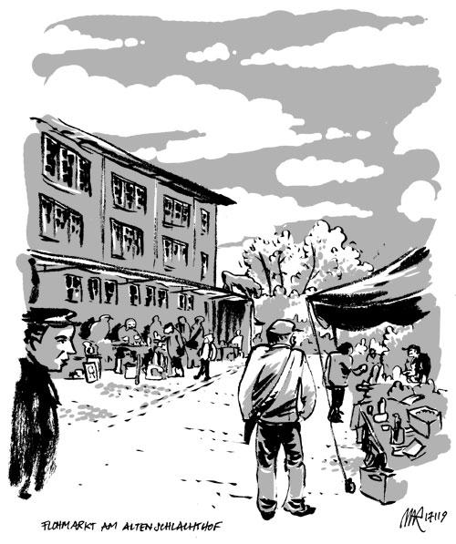 flohmarkt alter schlachthof