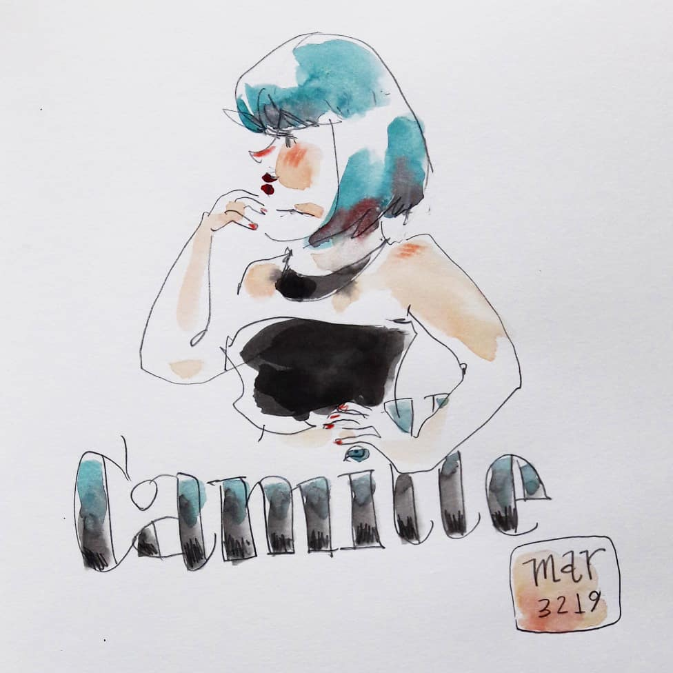 dr. sketchy - camille