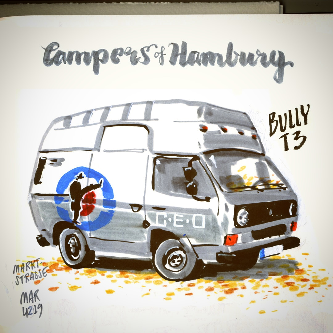 campers of hamburg - vw t3