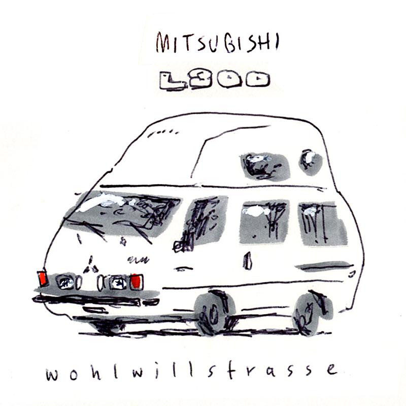 campers of hamburg - mitsubishi l300