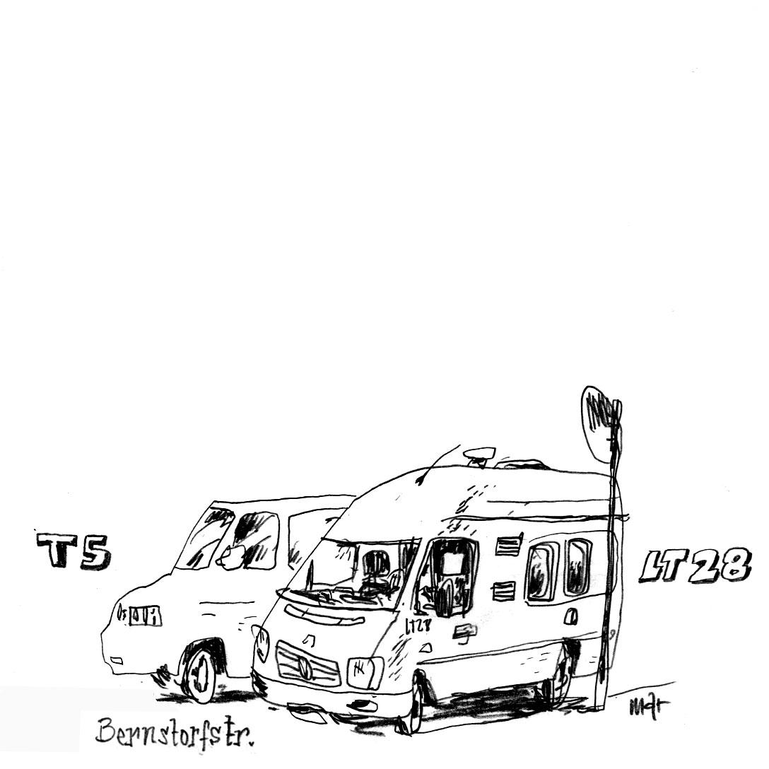 campers of hamburg - vw t5 und lt28