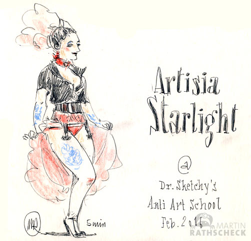 dr. sketchy's anti art school